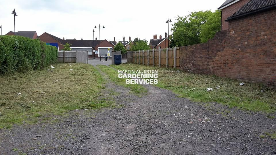 Market Drayton garden clearance - after