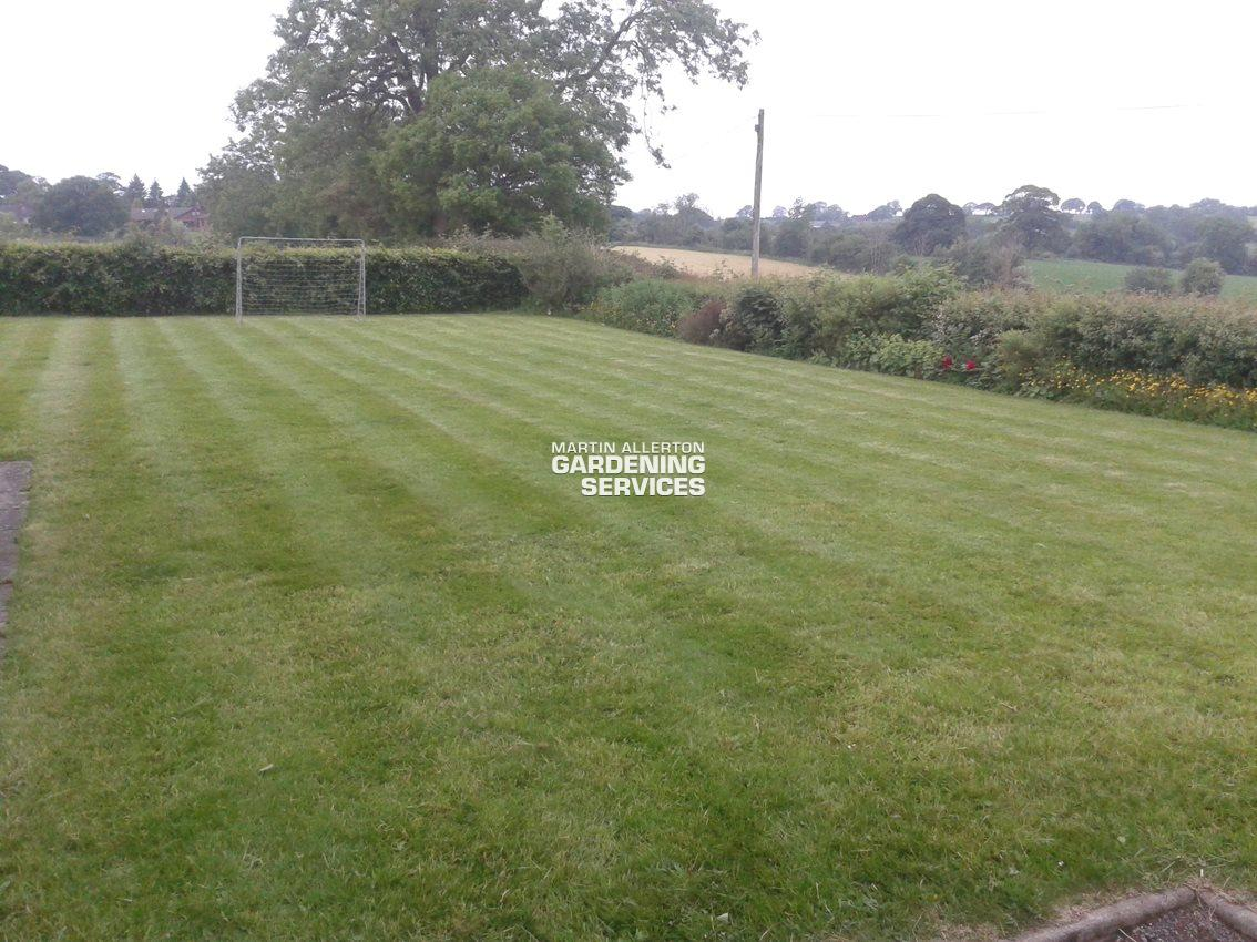 Fulford lawn striping